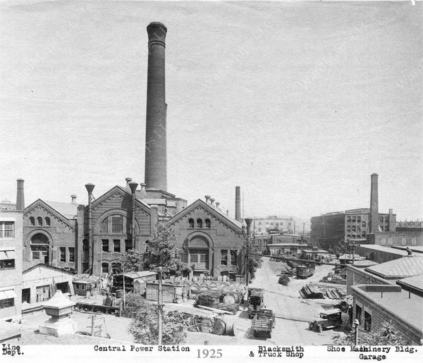 Central Power Station Complex, Boston 1925
