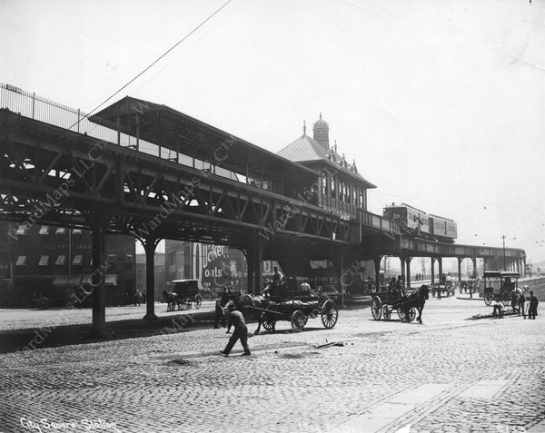 City Square Station May 31, 1901