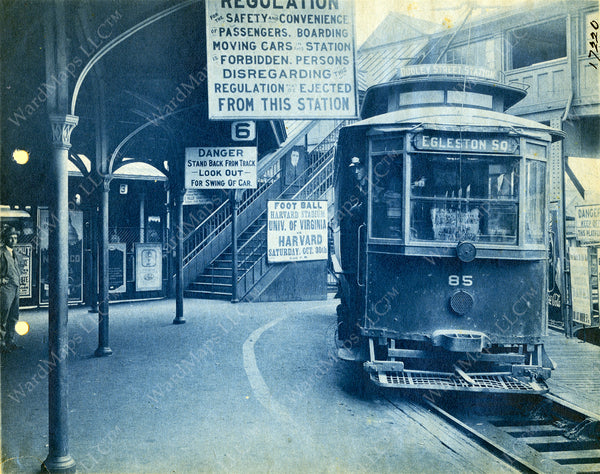 Dudley Terminal Upper Level Trolley Platform 1920