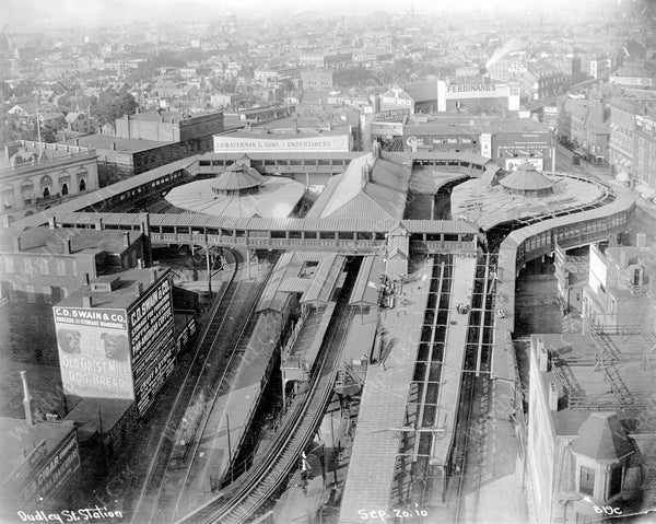 Dudley Street Station Overview September 20, 1910