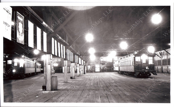 BRB&L East Boston Train Sheds Circa 1940