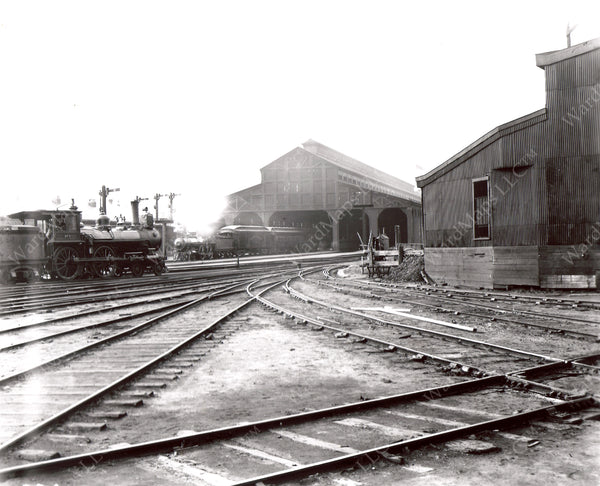 Boston & Albany Railroad Terminal Shed, Boston, June 9, 1898