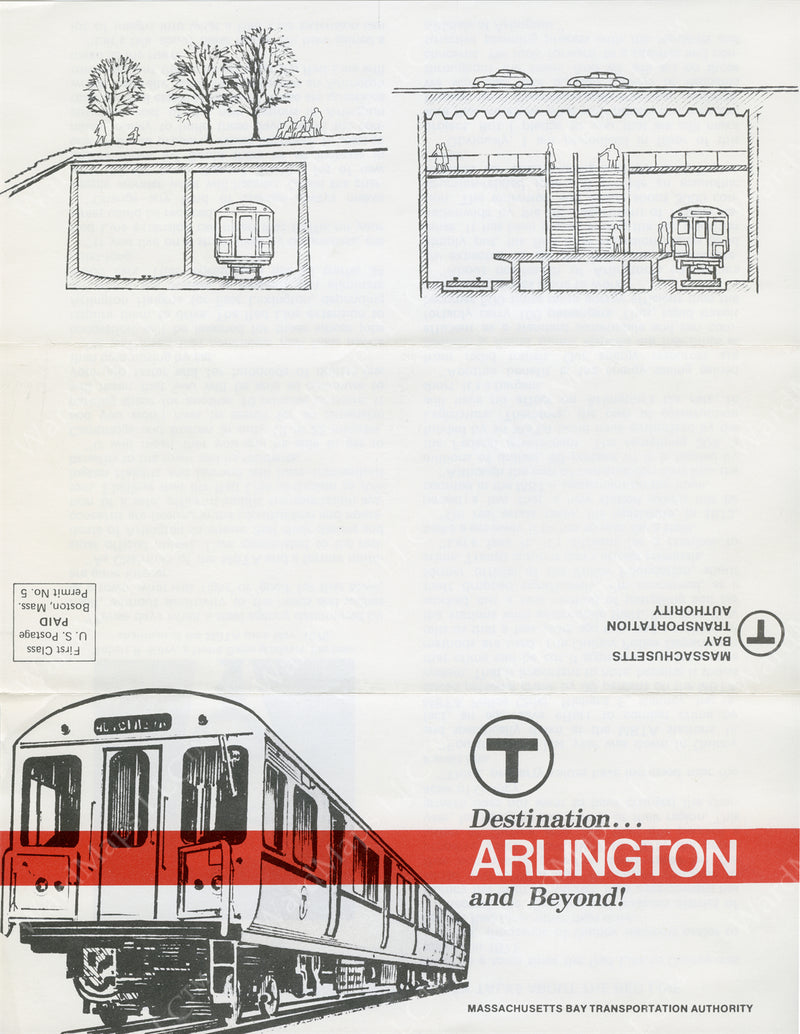 Red Line to Arlington and Beyond, Early 1970s