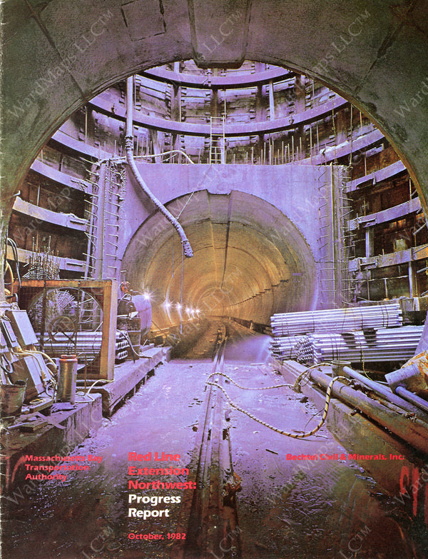 Red Line Northwest Extension Progress Report October 1982
