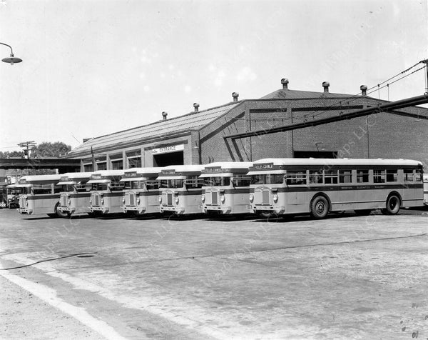 Arborway Bus Garage Circa Early to Mid-1930s