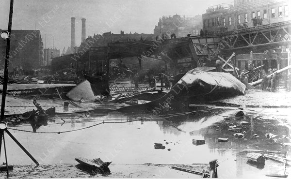 Aftermath of The Molasses Flood, January 15, 1919