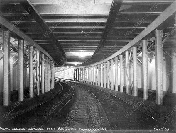 Northern End of the Subway, September 9, 1898