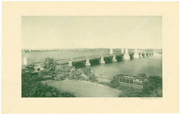 Cambridge Bridge Commission Report 1909: Completed Bridge