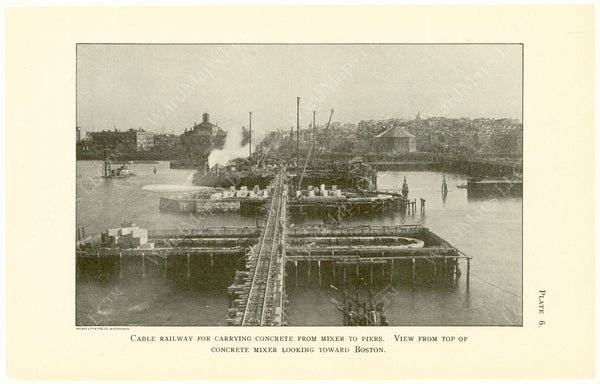 Cambridge Bridge Commission Report 1909 Plate 06: Cable Railway