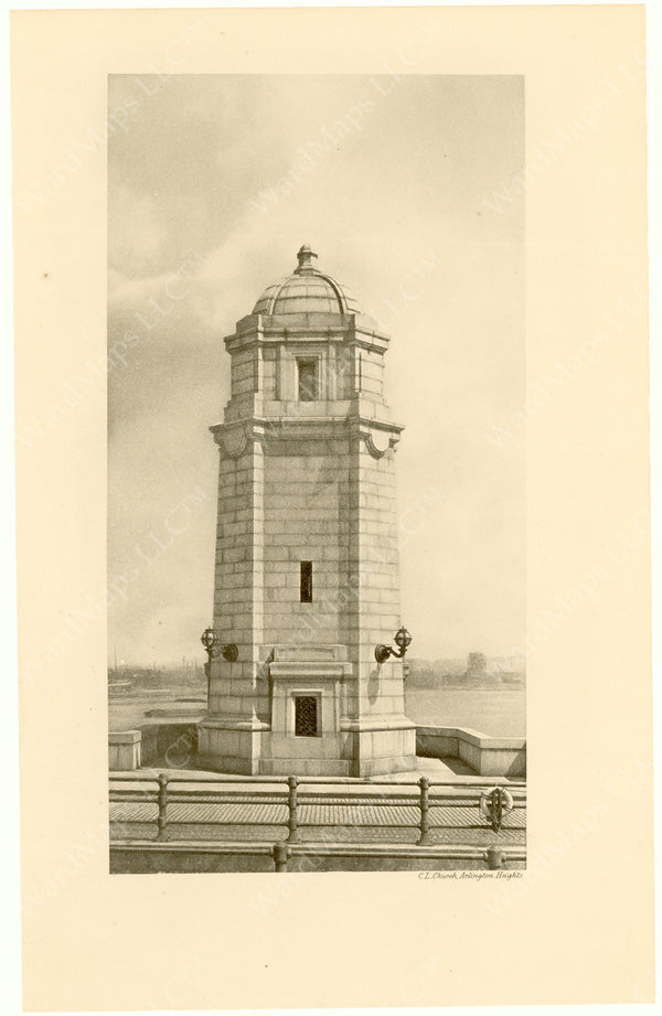 Cambridge Bridge Commission Report 1909: Completed Tower