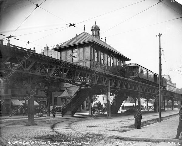 Northampton Station, Boston's South End, May 3, 1901