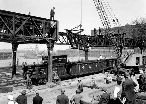 Scrapping the Atlantic Avenue Elevated 1942