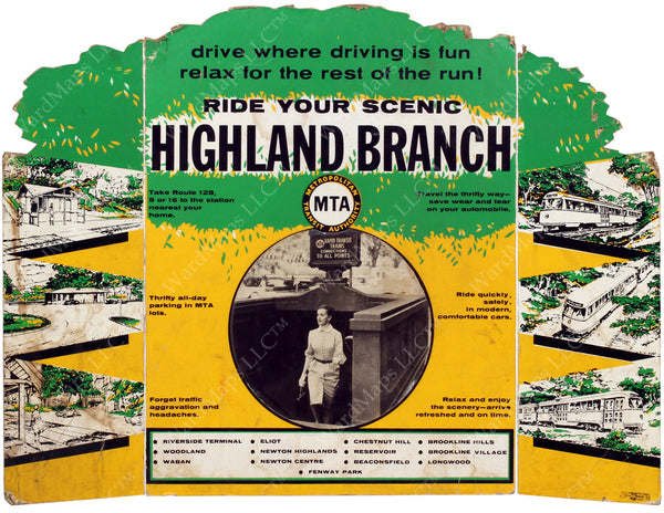 Highland Branch Color Advertisement Circa 1959