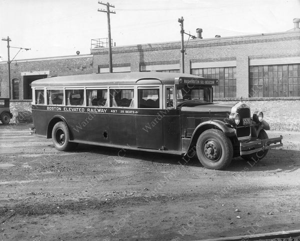 Boston Elevated Railway Co. Deluxe Service Bus 1928