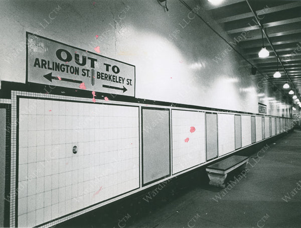 Arlington Station Before Renovations 1966