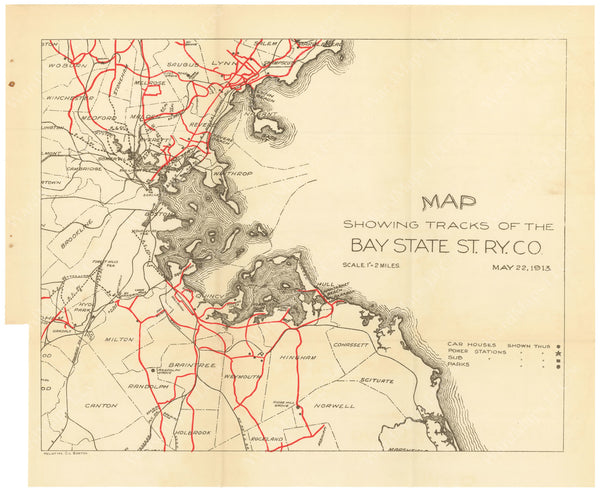 BTC Annual Report 20, 1914: Bay State Street Railway Co. 1913