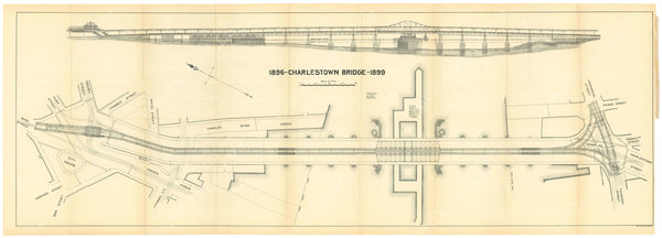 BTC Annual Report 06, 1900: Charlestown Bridge 1896-1899