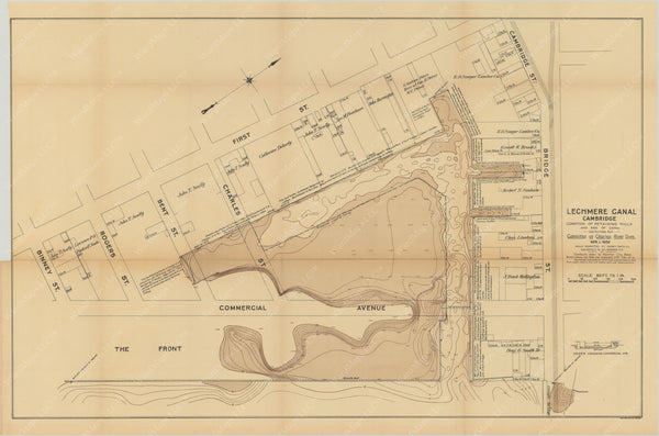 Charles River Dam Report 1903: Lechmere Canal, Cambridge, Massachusetts 1902