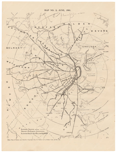 BERy Newspaper Brochure Map 02: The System, June 1901