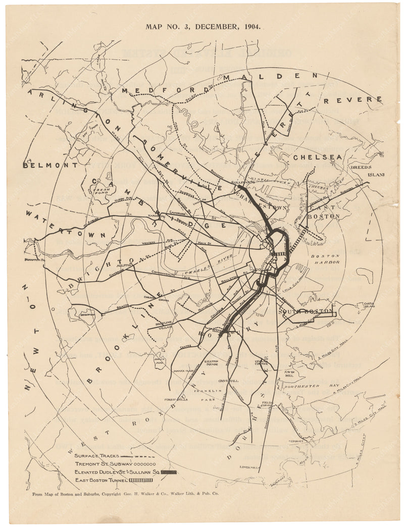 BERy Newspaper Brochure Map 03: The System, December 1904