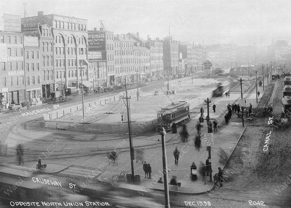 Canal Street Area, December 19, 1898