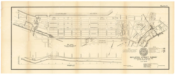 BTC Annual Report 18, 1912 Plate 02: Boylston Street Subway