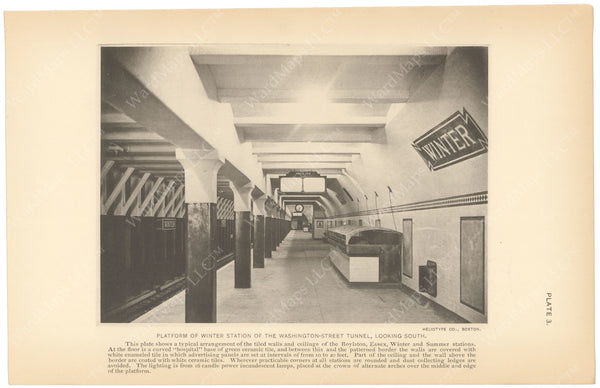 BTC Annual Report 15, 1909 Plate 03: Winter Station, Looking South