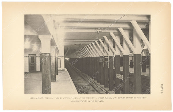 BTC Annual Report 15, 1909 Plate 04: Winter Station, Looking North