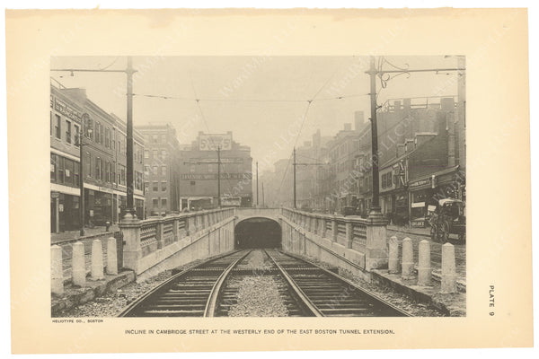 BTC Annual Report 21, 1915 Plate 09: Cambridge Street Incline