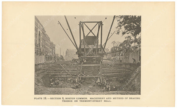 BTC Annual Report 02, 1896 Plate 12: Machinery at Tremont Street Mall
