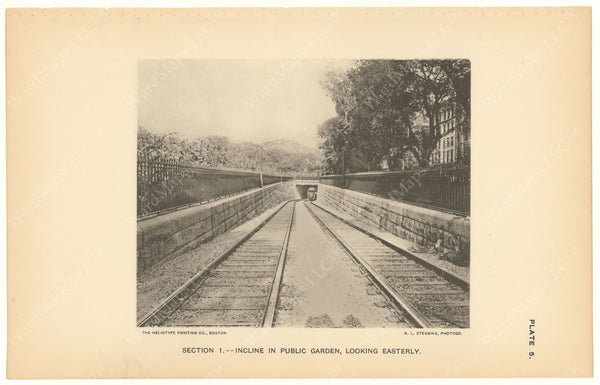 BTC Annual Report 03, 1897 Plate 05: Public Garden Incline