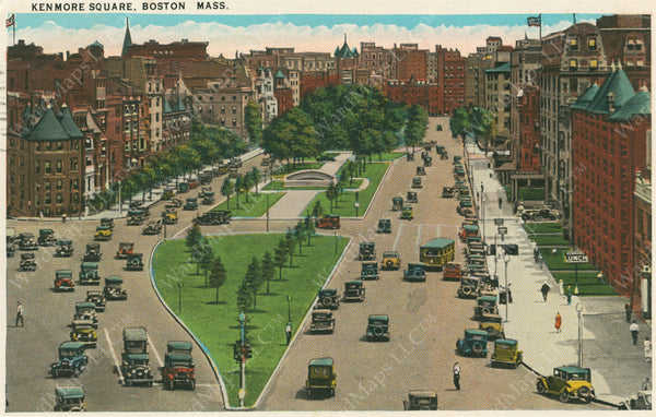 Kenmore Square, Boston, Massachusetts Circa 1940