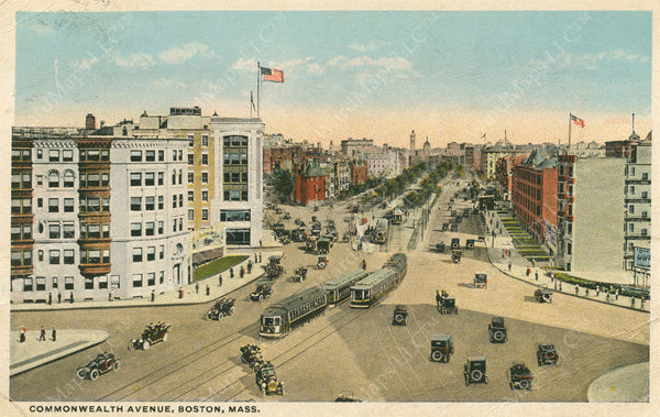 Kenmore Square, Boston, Massachusetts Circa 1930