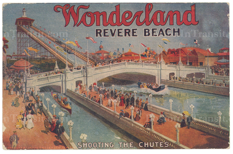 "Wonderland ""Shooting the Chutes"", Revere Beach, Massachusetts"