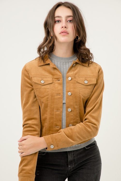 Cut to the Chase Jean Jacket - Curvy