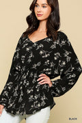 Thea Floral Tunic