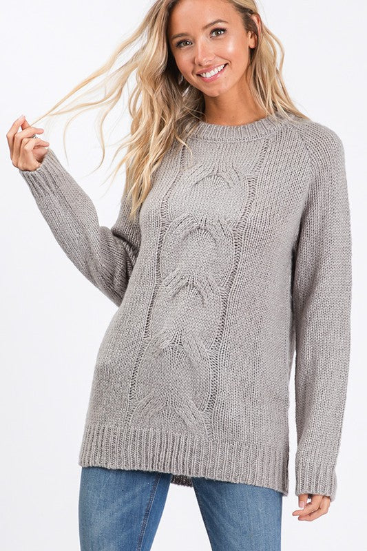 Kate Cable Knit Sweater