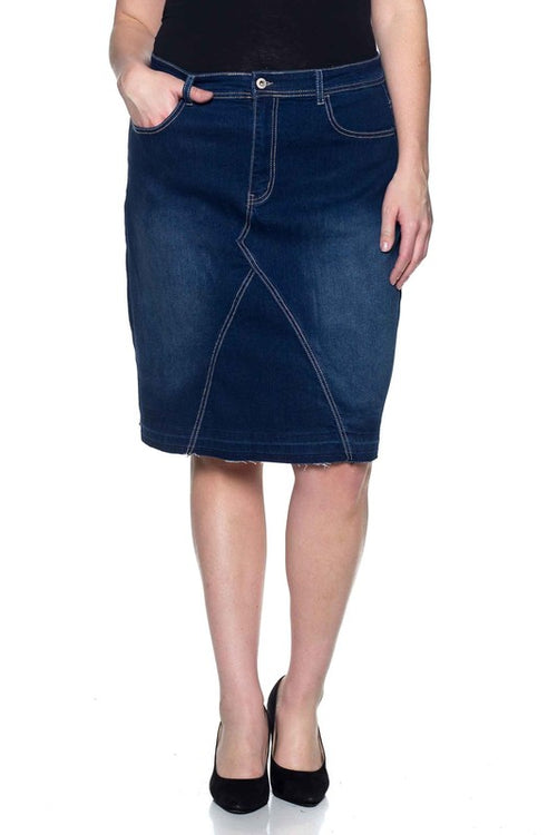 Mollie Denim Skirt