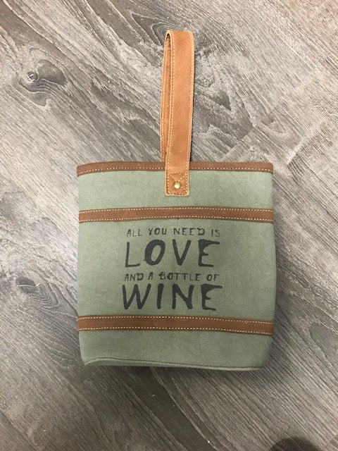 Wine and Love DBL Wine Bag