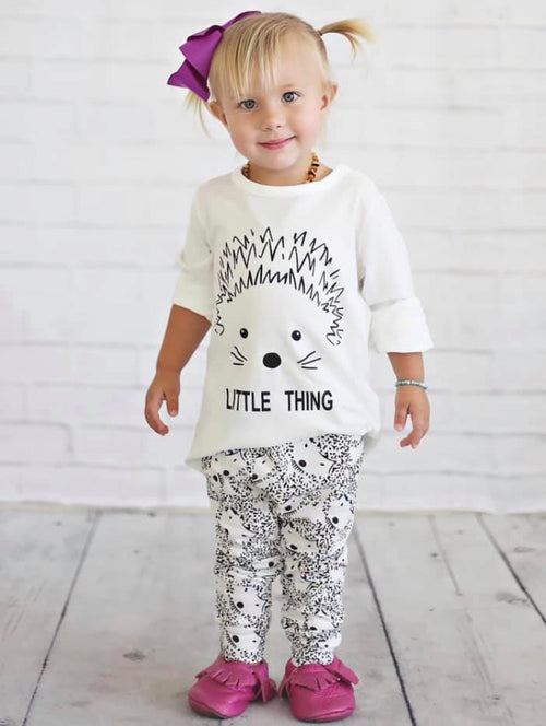 Hedgehog Outfit - 2pc