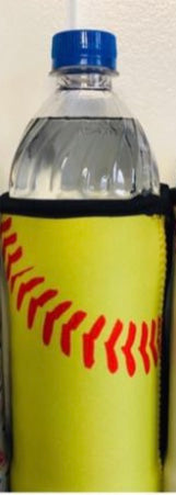 Softball Water Bottle Coozie