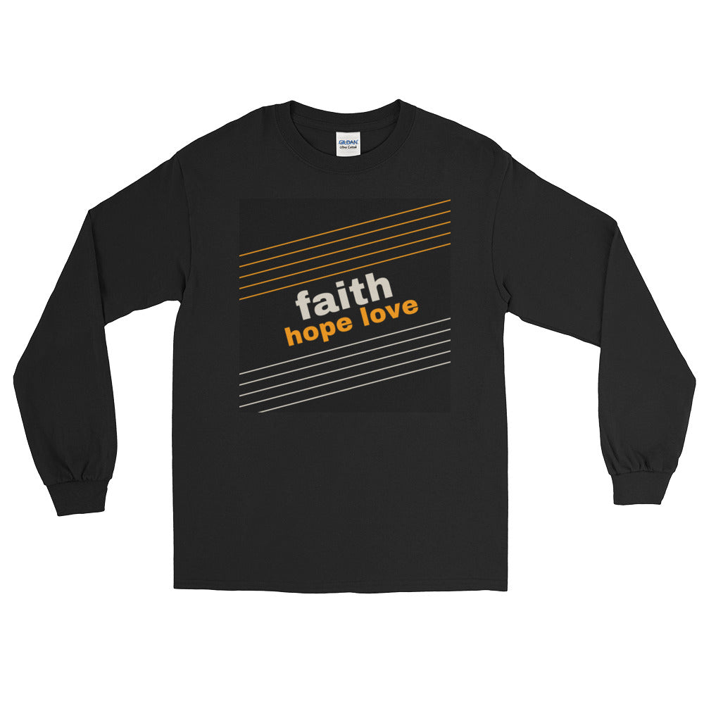 Faith, Hope, Love long-sleeve