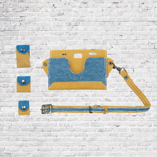 Paper Camera Bag - Denim