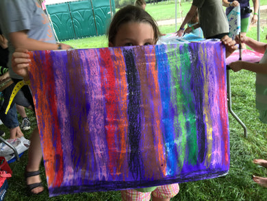 Summer Experimental Painting Workshop for Kids