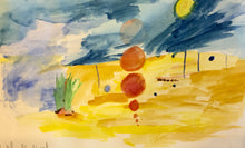 Summer Kid Workshop- Landscape and Mixed Media Painting