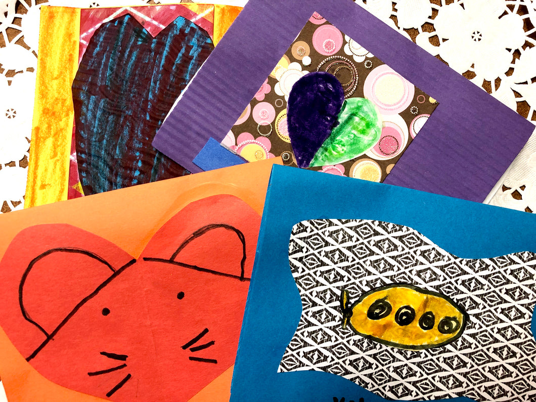 Workshop -Create Your Own Handmade Class Valentines Feb. 1
