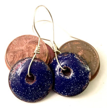 Twinkling Sky Middle Punch Penny Earrings