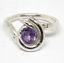 Alexandrite Silver Ring - Free Shipping- size 7