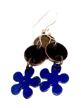 Falling Leaves with Flower Penny Earrings