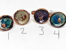 Penny Rings with a Penny Punch and Microbeads